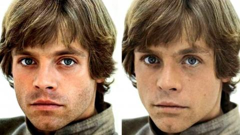 Sebastian Stan - Luke Skywalker