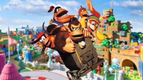 Super Nintendo World Donkey Kong Universal