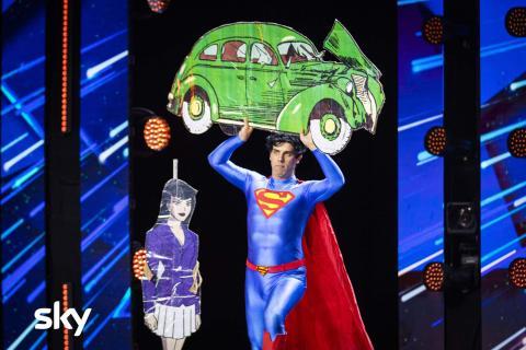 Superman - Got Talent Italia