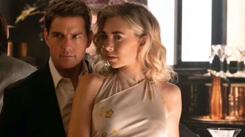Tom Cruise y Vanessa Kirby en la saga Misión Imposible