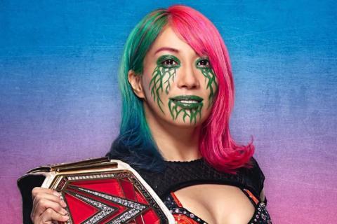 Asuka de la WWE