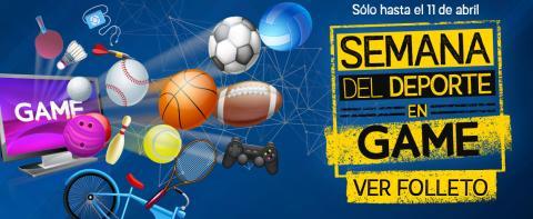 Game Semana del deporte
