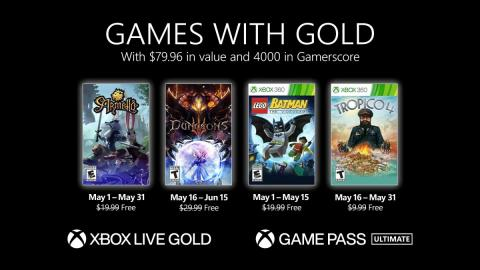 Games with Gold mayo 2021