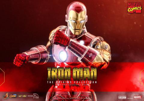 Iron Man clásico - Hot Toys