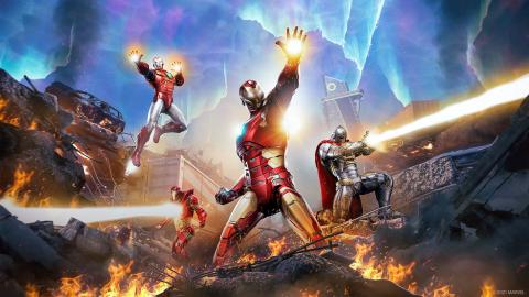Marvel's Avengers Tachyon Iron Man