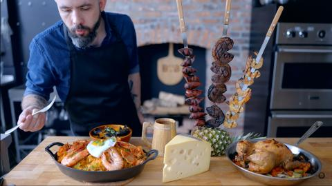 Monster Hunter World Comida  Babish Culinary Universe
