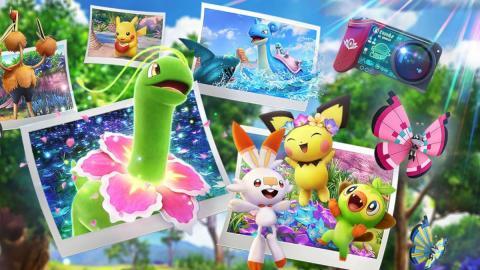 New Pokémon Snap arte