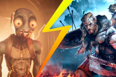Oddworld Soulstorm y Vikings