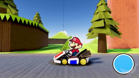 Paper Mario Kart
