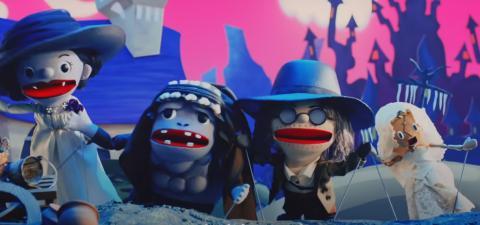 Show de marionetas de RE Village