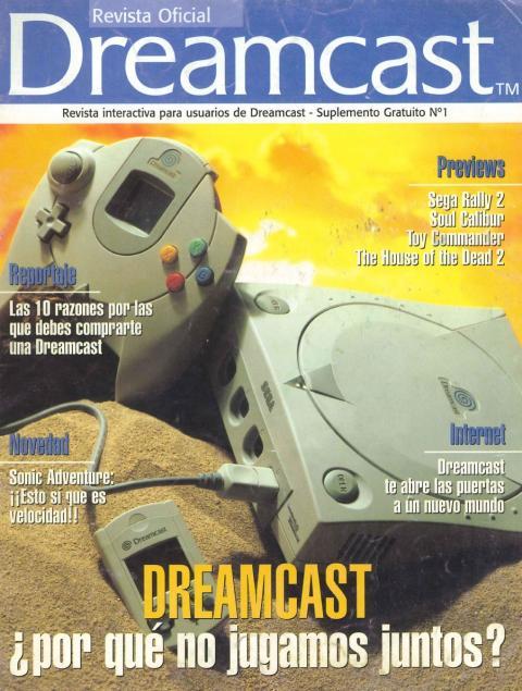 Revista Oficial Dreamcast y Hobby Consolas