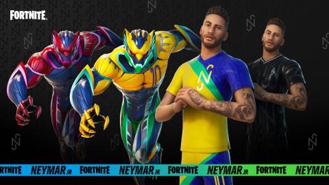 Skin Neymar Jr en Fortnite