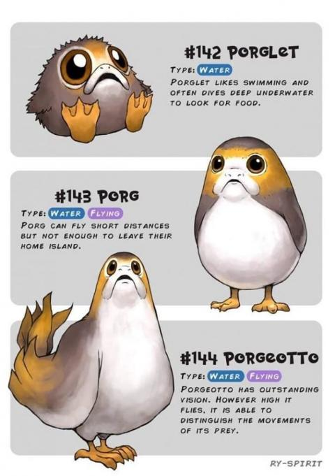 Star Wars v Pokémon