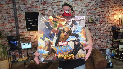 Unboxing del juego de mesa X-Men: Insurrección Mutante