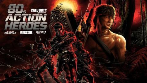 Call of Duty Black Ops Cold Ward y Warzone - Rambo y McClane