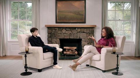 Elliot Page con Oprah Winfrey