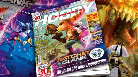 Hobby Consolas 359, a la venta con Ratchet & Clank: Una dimensión aparte en portada y en un póster doble