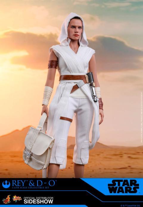 Rey y D-O en Star Wars: El ascenso de Skywalker