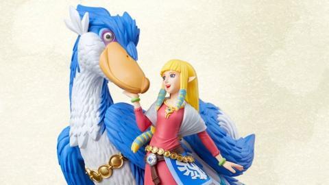 The Legend of Zelda: Skyward Sword HD - Amiibo Zelda y Pelícaro