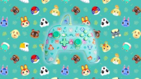 Mando PowerA Animal Crossing
