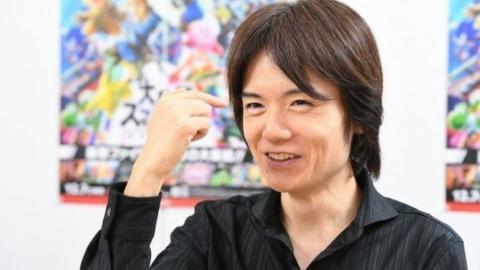 Masahiro Sakurai Smash Bros.