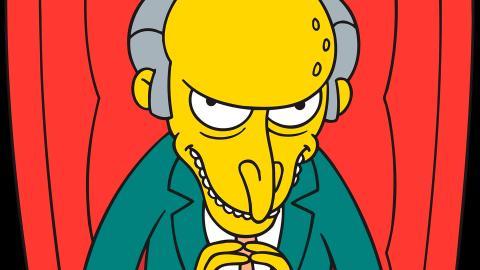 mr.burns de los Simpson
