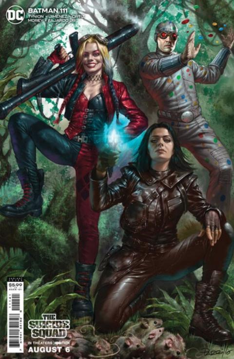 """Portadas de DC """"invadidas"""" por los personajes de The Suicide Squad"""