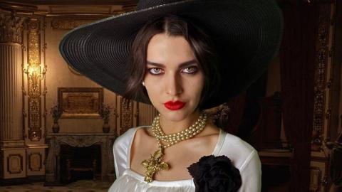 Sasha Zotova Jill Valentine Dimitrescu Resident Evil