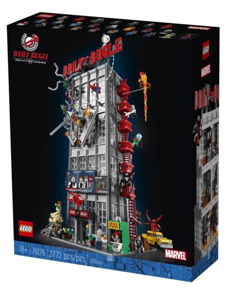 Set de LEGO del Daily Bugle de Spider-Man