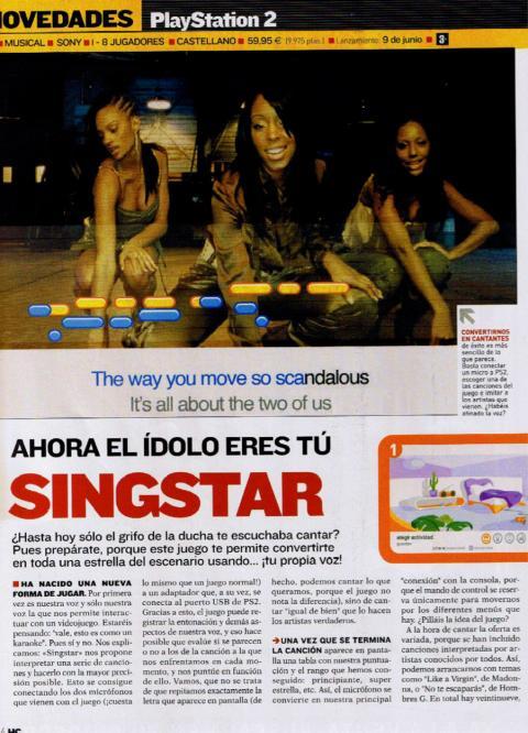 SingStar 2004 Hobby Consolas