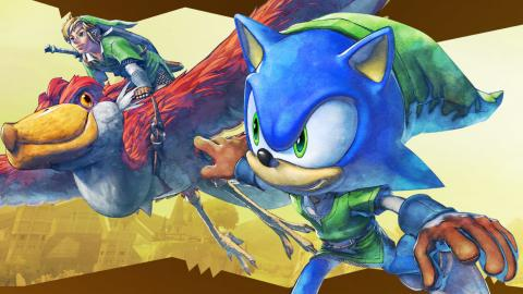 Sonic Lost World Zelda