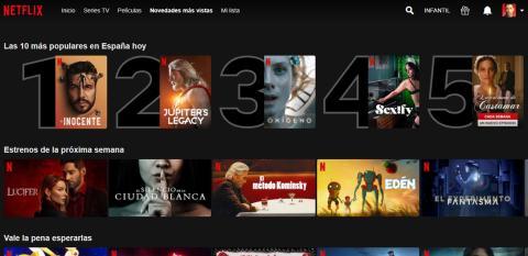 Top 10 de Netflix España