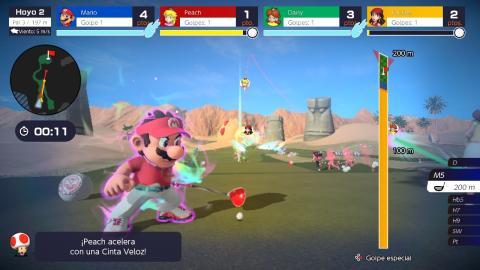 Mario Golf Super Rush Nintendo Switch review