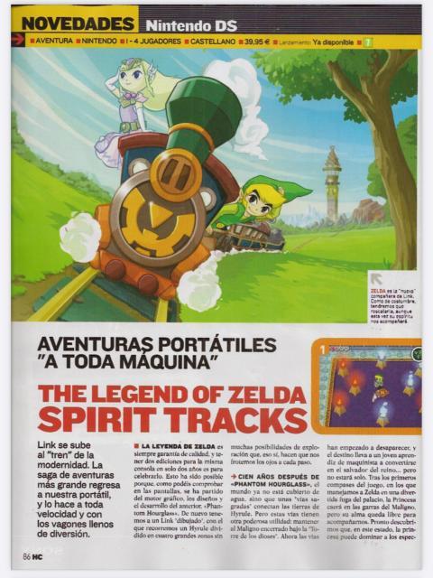 Análisis TLOZ Spirit Tracks