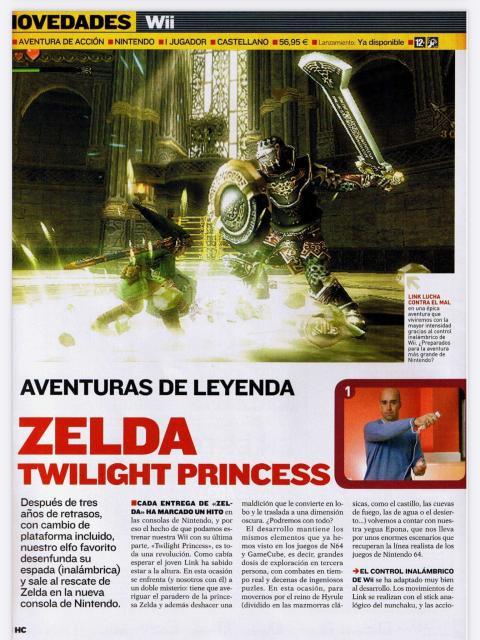 Análisis TLOZ Twilight Princess
