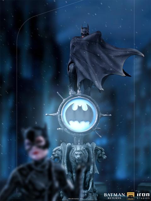 batman returnos iron studios