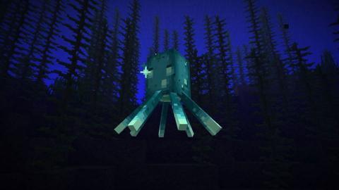 Calamares brillantes Minecraft