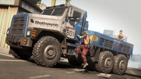 COD Warzone camiones