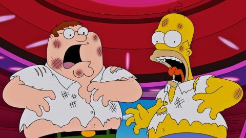 Crossover Padre de Familia y Los Simpson
