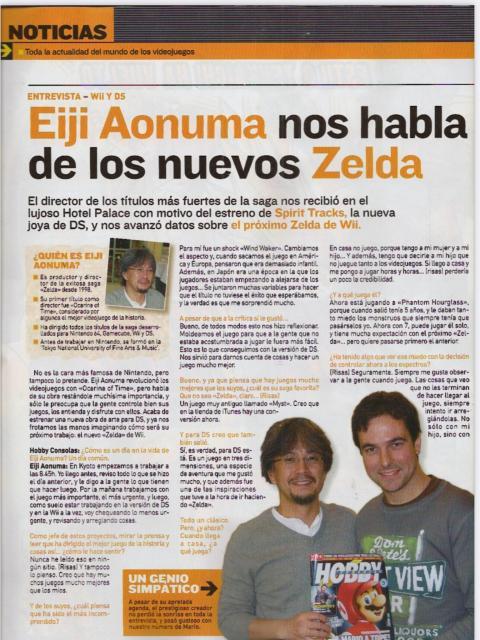 Entrevista Eiji Aonuma