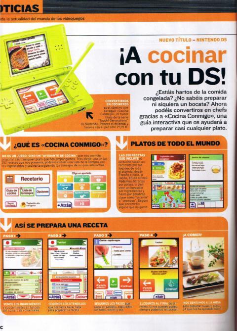 Juegos distintos para Nintendo DS