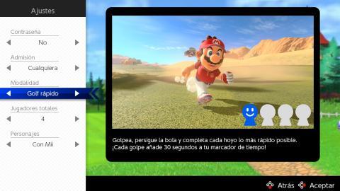 Mario Golf Super Rush online