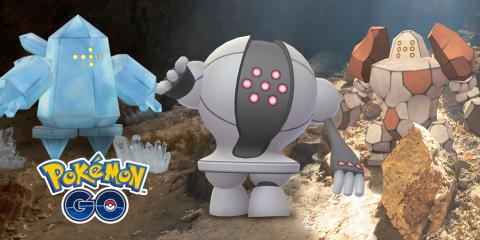 Pokemon Go Regirock Registeel Regice