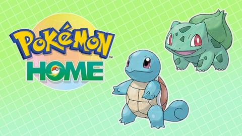 Bulbasaur y Squirtle Pokémon Home