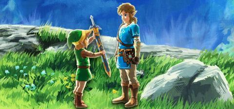 Reportaje Zelda y Hobby Consolas