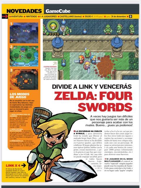 TLOZ Four Swords