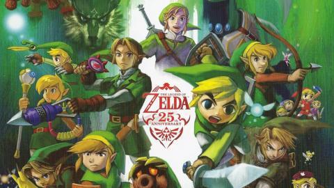 Zelda 25 aniversario