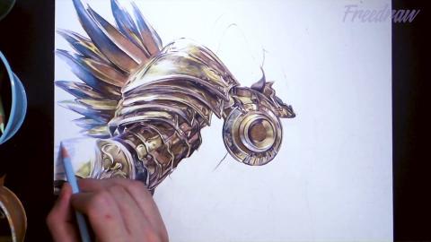 Diablo fanart - Tyrael