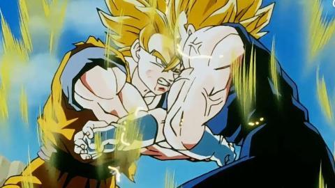 Dragon Ball - Goku vs Majin Vegeta