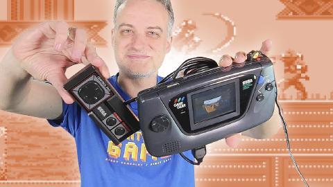 Game Gear retro modding